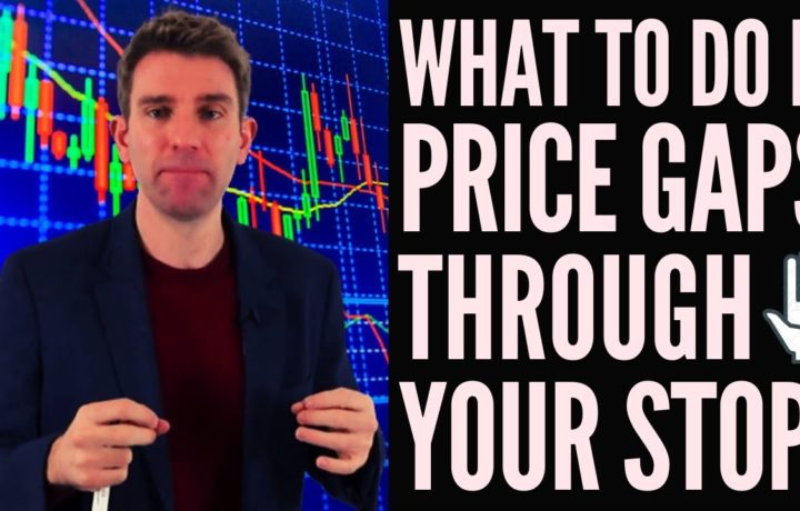 How to Manage Gap Risk in Swing Trading?  Price Gaps Through Your Stop!? 🤔