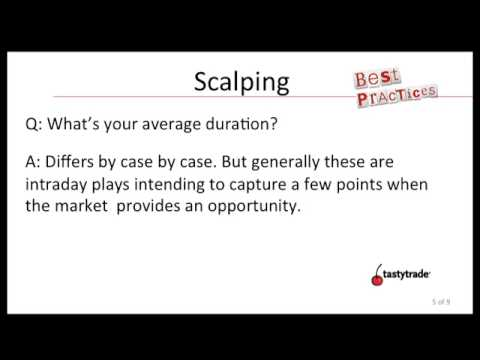 Option Trading: Scalping As A Trading Strategy