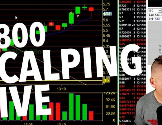 DAY TRADE SCALPING LIVE! $800 FRIDAY!