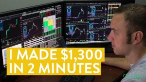[LIVE] Day Trading | How I Made $1,300 in 2 Minutes (Learn to Trade!)