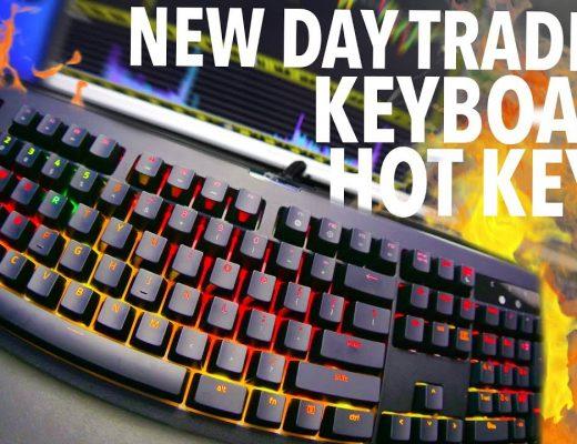 NEW DAY TRADING KEYBOARD + HOT KEYS!