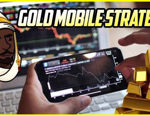 """FOREX MOBILE STRATEGY: TURN $100 TO $800+ IN ONE DAY SCALPING """"GOLD"""" FROM YOUR PHONE!"""