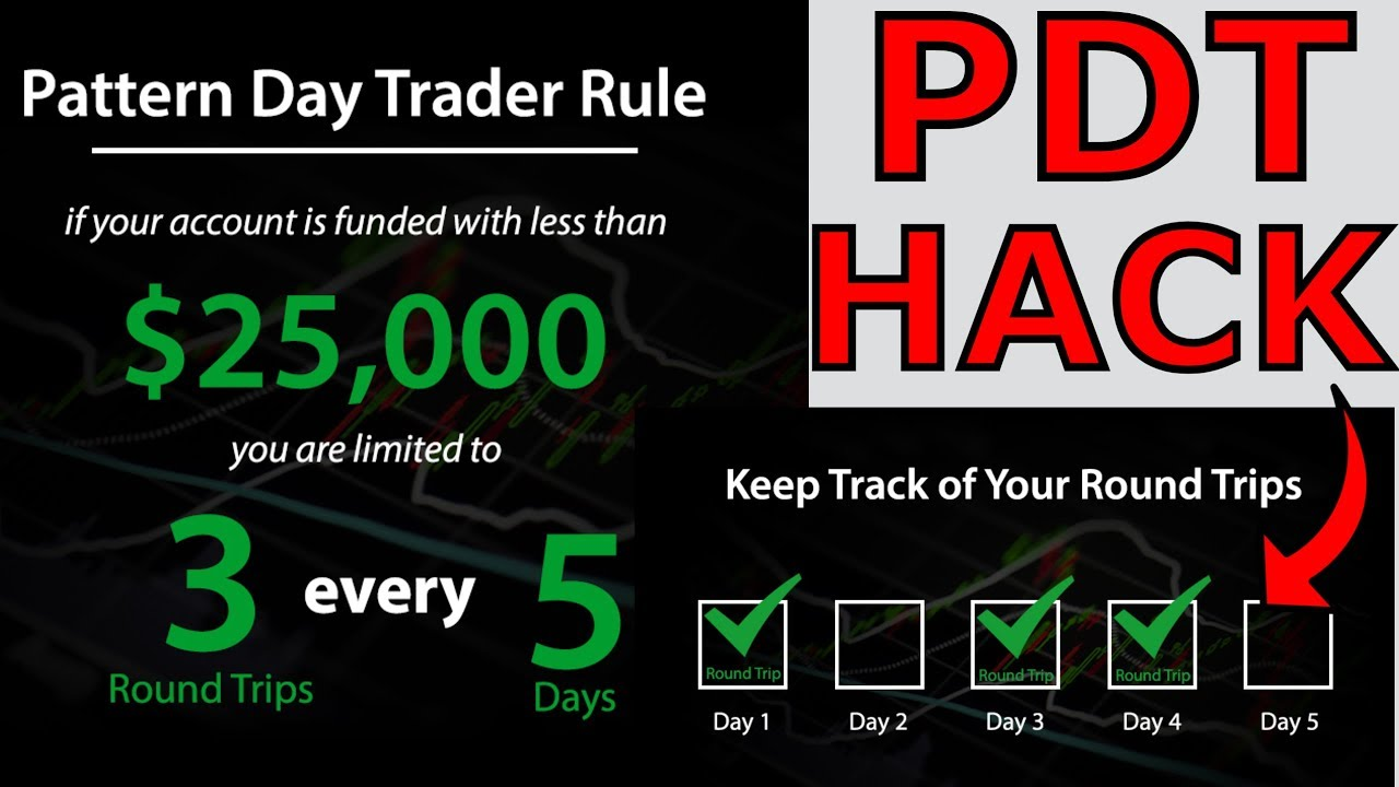 How to get around pattern day trader rule