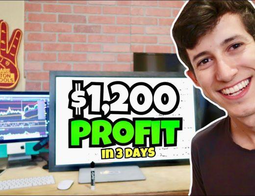 How I Made $1,200 Profit Trading Stocks | Mid Week Recap