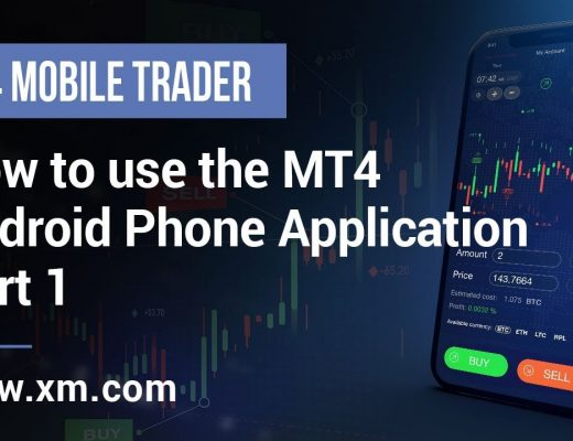 XM.COM – Mobile Trader – How to use the MT4 Android Phone Application (Part 1)