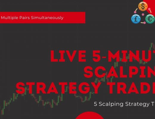 Live 5-Minute Scalping Strategy Session | Trading Multiple Pairs Simultaneously