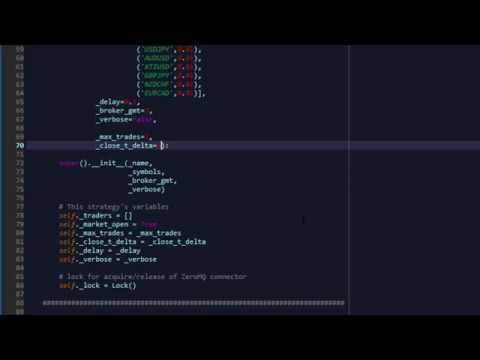 Forex algorithmic trading python