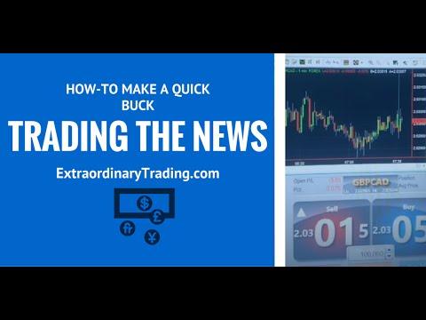Scalp on news forex