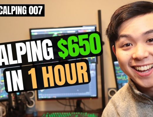 Scalp Trading $650 in 1 Hour   Live Scalping 007