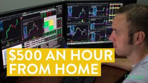 [LIVE] Day Trading | The $500 Hour Working From Home