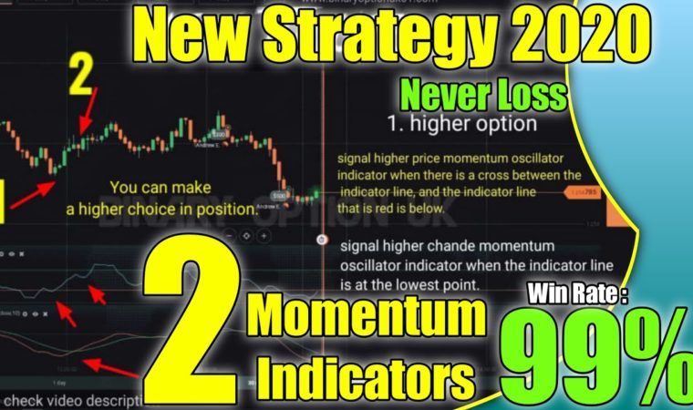 2 Momentum Indicators – never loss – win ratio 99% – iq option strategy