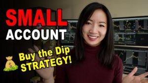 How to Buy the Dip day trading? Small Account Long Strategy