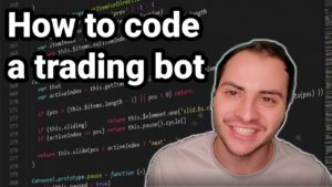 How to Code a Stock Trading Bot Class 1 of 5