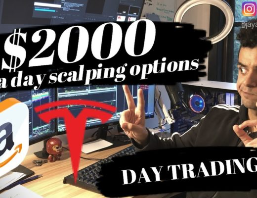 How to DAY TRADE Options   $2000 in a day   Scalping options
