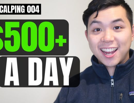 How to Make $500 a Day Trading ONE Stock   Live Scalping 004