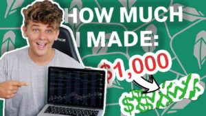 I TRIED TRADING STOCKS FOR A WEEK WITH $1,000