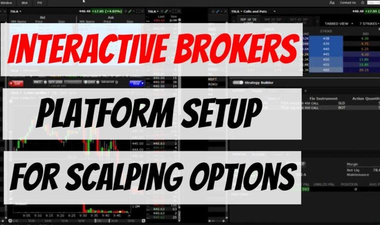 Interactive Brokers TWS Platform Setup for Scalping Options