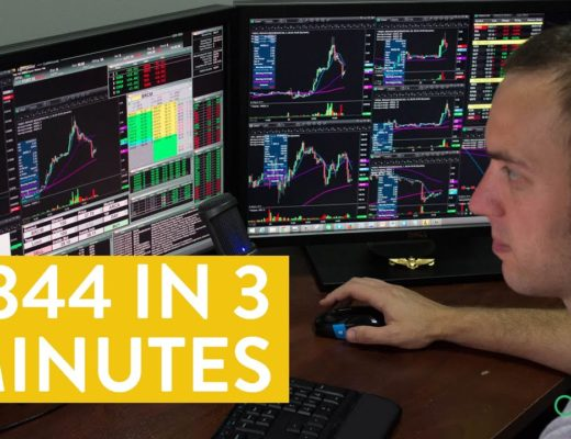 [LIVE] Day Trading | $344 in 3 Minutes (and then more money!)