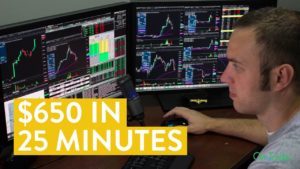 [LIVE] Day Trading | $650 in 25 Minutes (learn to day trade!)