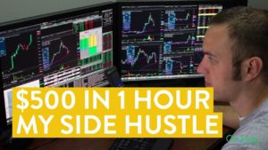 [LIVE] Day Trading | How to Make $500 in 1 Hour (Side Hustle)
