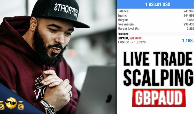 LIVE FOREX TRADE – Scalping Before News – Part 1