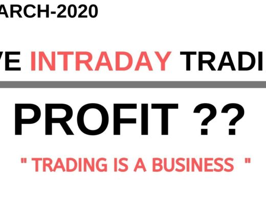 LIVE INTRADAY TRADING   20 MARCH 2020  