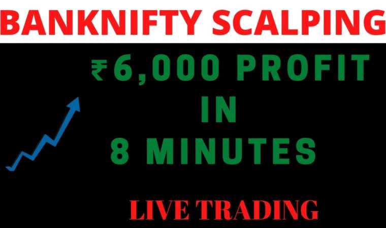 Live Scalping  banknifty with Scalper Tool