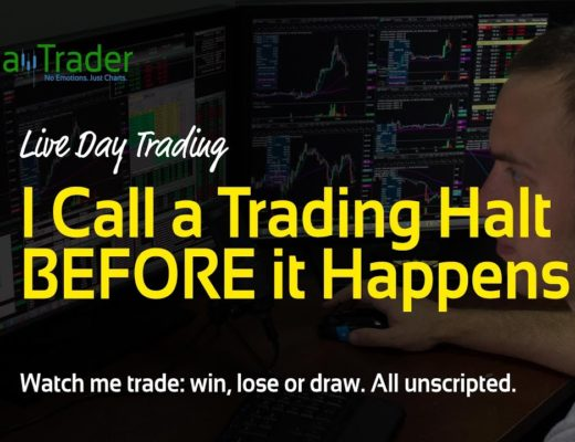 Live Stock Trading – I Call a Trading Halt BEFORE it Happens