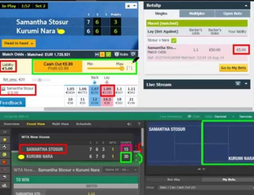 Low Risk Scalping on Betfair for Profit