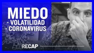 Miedo por Volatilidad - Miedo de Coronavirus