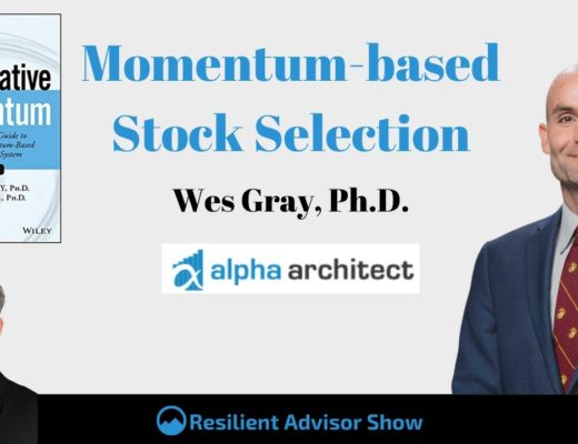 Momentum-based Stock Selection With Wes Gray, Ph.D. (EP123)