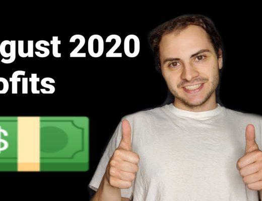 My Trading Bot Profits August 2020