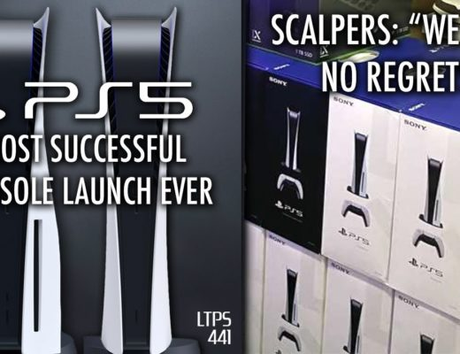 PS5 Has Most Succesful Console Launch Ever.   PS5 Scalpers Have No Regrets. – [LTPS #441]