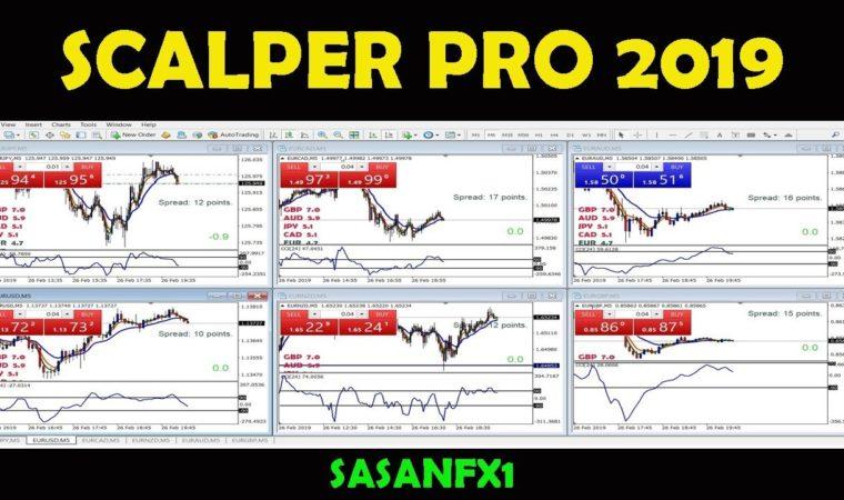 SCALPER PRO 2019 (LIVE TRADE GBP – EUR PAIRS)