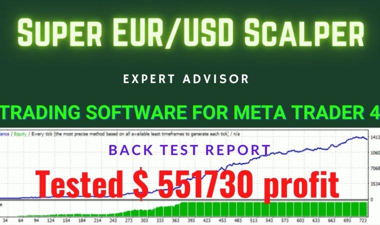 Super EURUSD Scalper! FBS   ECN account  Profit $551730