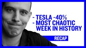 Tesla Stock Down 40% - Most Chaotic week in history