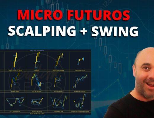 Trading en cuenta real con Micro Futuros   Estrategia SCALPING + SWING TRADING