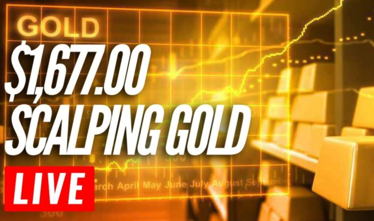 Watch me make $1,677.00 Scalping Gold. FOREX Gold Scalping Strategy.