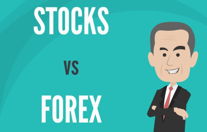 What's the overall difference between trading stocks and forex?
