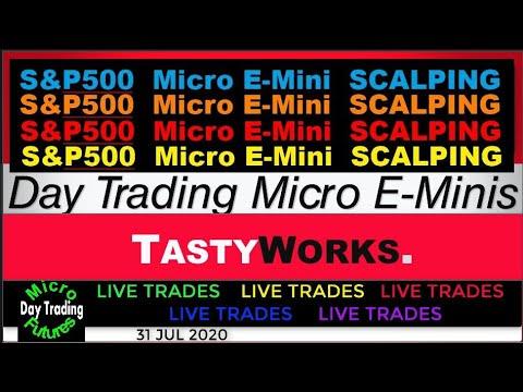 Day Trading S&P500  Scalping Micro E-Minis