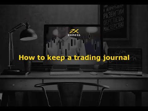 Forex webinar 'How to keep trading journal'