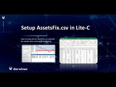 Setup AssetsFix.csv Correctly in Lite-C   Algorithmic Trading with Zorro @ Darwinex (2)